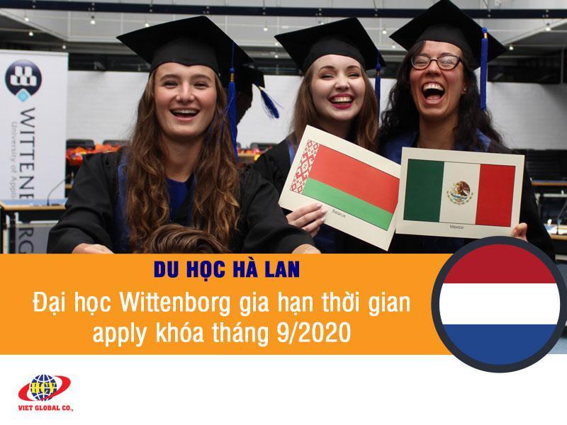 Du học Hà Lan: Đại học Wittenborg gia hạn thời gian apply khóa tháng 9/2020