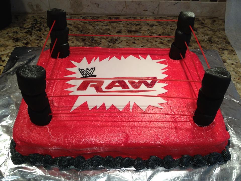 My Cakes For Kids Wwe Raw Birthday Cake