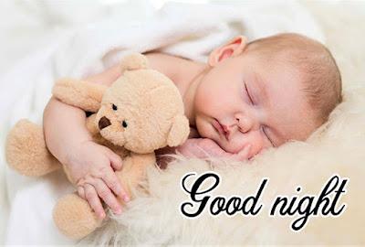 beautiful baby cute good night images
