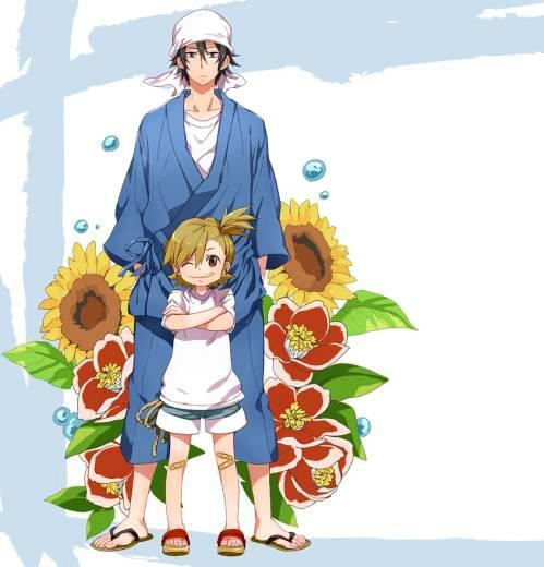 Friendship: Barakamon - Seishu Handa & Naru Kotoishi