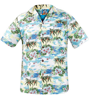 69fddfb35 Soft, Light & Good Quality Hawaiian Shirts Short Sleeves Hawaiian Shirts  with Beach Prints all over the Shirts Peach Finish Fabric