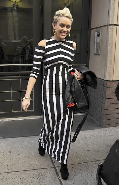 Miley Cyrus in new york