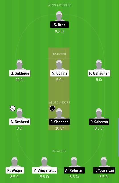 SKK vs GHG T20 Team
