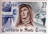 IV CENTENARIO DE LA MUERTE DE SANTA TERESA DE ÁVILA