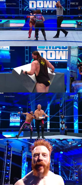 WWE Friday Night SmackDown 10th April 2020 480p 720p || 7starhd