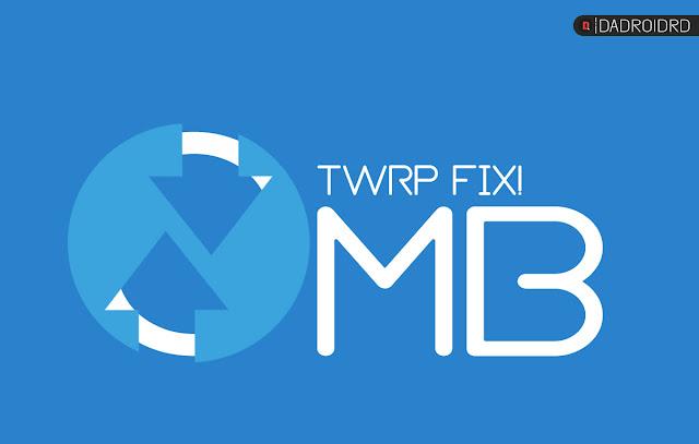Cara mengatasi Internal Storage terbaca 0mb di TWRP