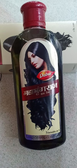 Dabur Mahabhringraj Hair Oil Review