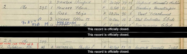 1939 National Registration - Norwich, Norfolk - Flora Howard