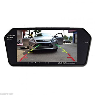 Full HD LED Reverse Parking Screen with Bluetooth.