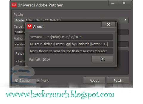 Universal AdobePatcher by hackcrunch