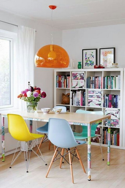 10 dining rooms paints with lots of color 2