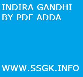 INDIRA GANDHI BY PDF ADDA