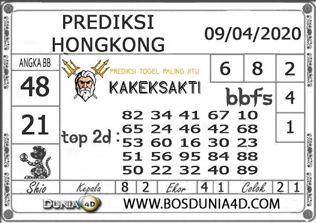 Prediksi Togel HONGKONG DUNIA4D 09 APRIL 2020