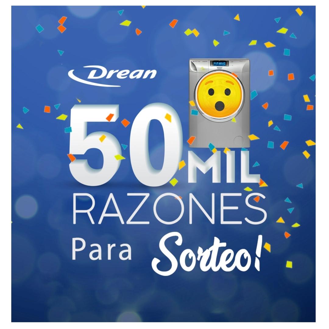 Sorteo Drean Argentina 2021