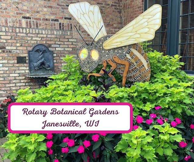 Captivating Nature Wandering at Janesville's Rotary Botanical Gardens