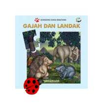 cerita gajah dan landak