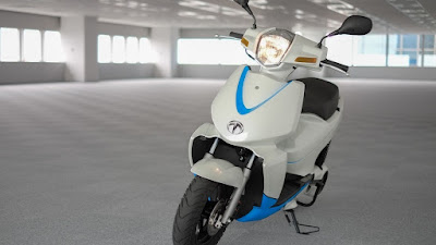 Terra A4000i scooter front view image