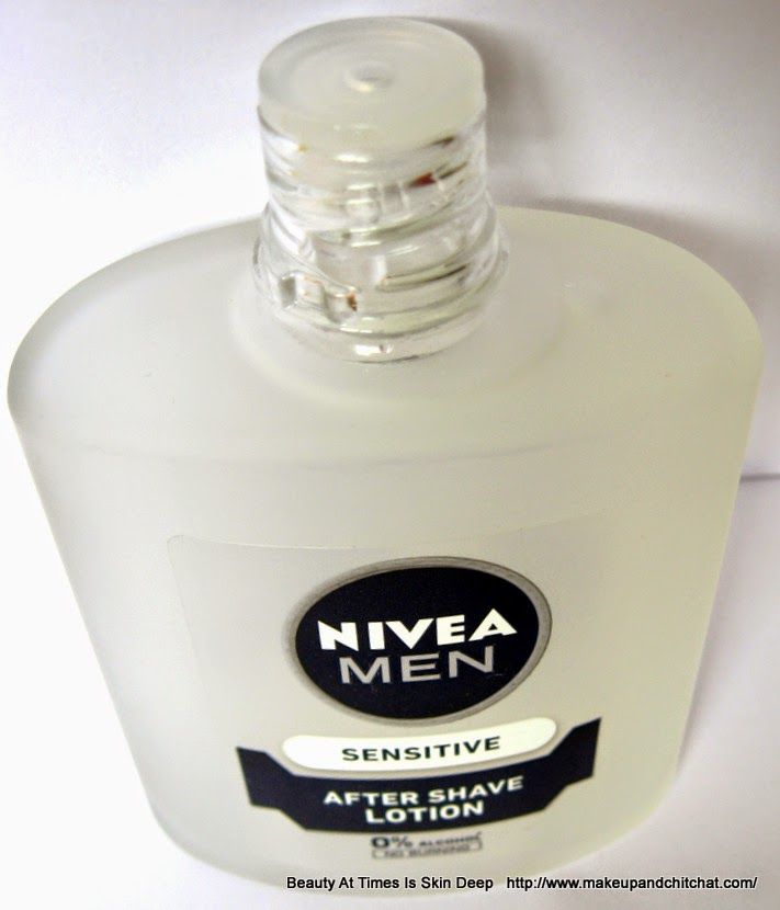 Nivea Aftershave Lotion for Sensitive Skin| Alcohol free Aftershave lotion