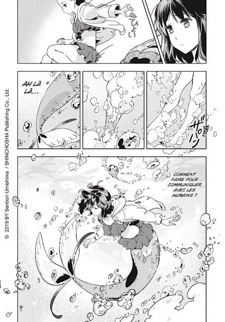 """page de """"LE JARDIN DE SILLUSIONS"""" de Senbon Umishima chez Tonkam Delcourt"""