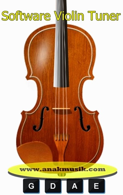 Software Violin Tuner