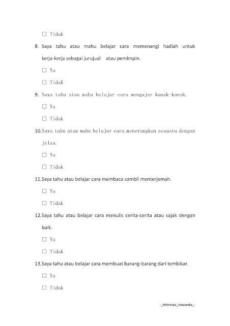Contoh Soalan Peperiksaan SPA Operator Loji H11 2019