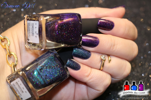 ILNP, I Love Nail Polish Brand, Indie Polish Brand, Summer Collection 2016, Interstellar, Storytelling, Holografico, Mani tape, Coletivo, Alquimia das Cores, Alê M., Monyy D07
