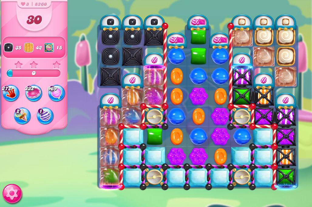 Candy Crush Saga level 8260