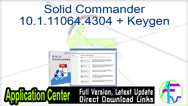 Solid Commander 10.1.11064.4304 + Keygen