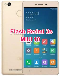 Flash Redmi 3S