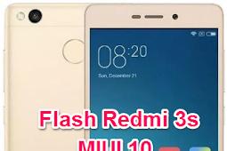 Cara Flash Redmi 3S MIUI 10 Fix botloop