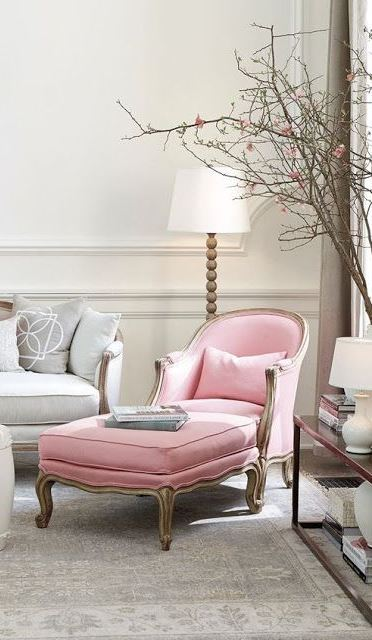 Pretty Pinks: Pale, Pastel Soft Pink Rooms
