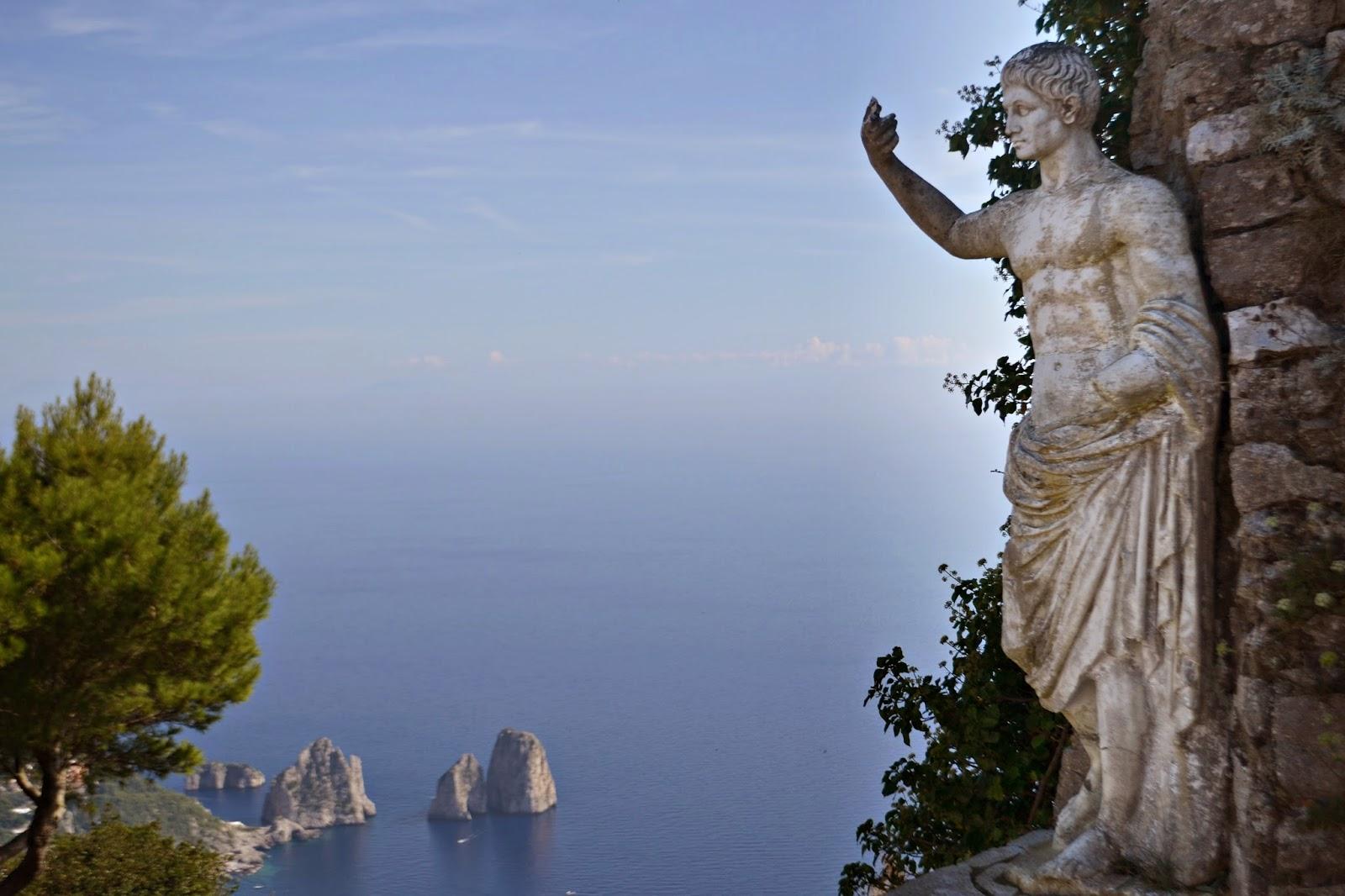 Roman Statue in Capri