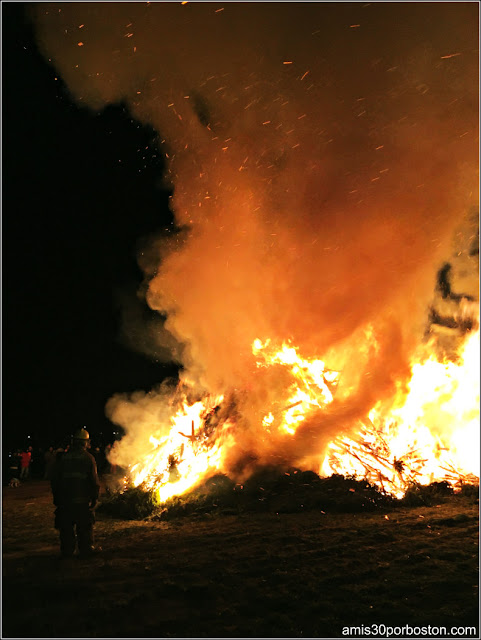 Old Newbury Bonfire 2017