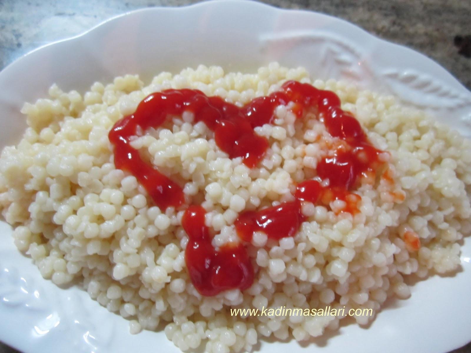 Biberli kuskus salatası tarifi
