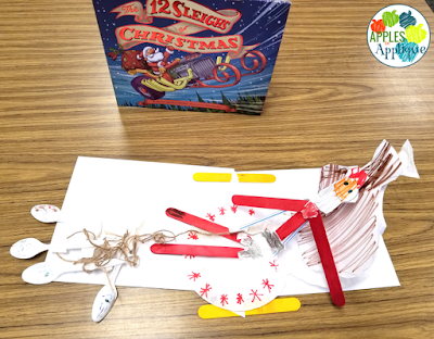 Christmas STEM Activity: Build a Sleigh for Santa! | Apples to Applique