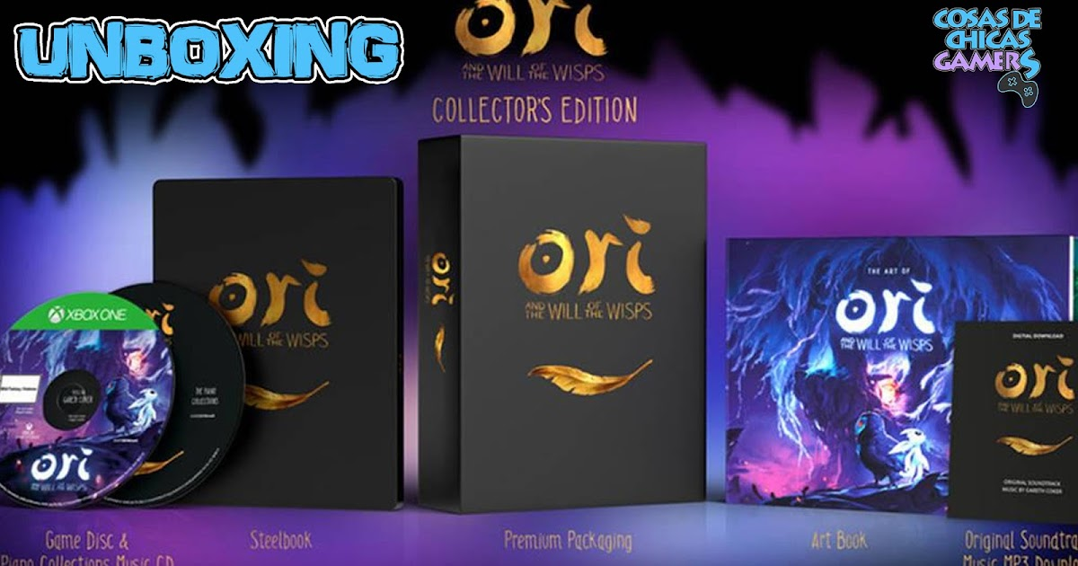 EDICIÓN COLECCIONISTA ORI AND THE WILL OF THE WISPS - UNBOXING