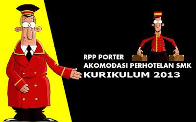 Download RPP Porter Kurikulum 2013 Akomodasi Perhotelan SMK