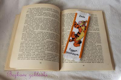 Zakładka z Tygryskiem – Tigger bookmark