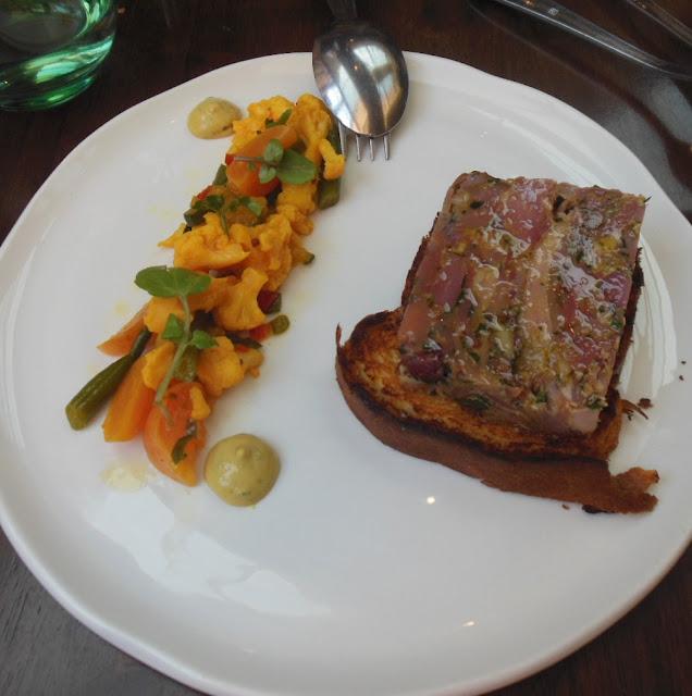 Gallery Restaurant, Ballarat, terrine