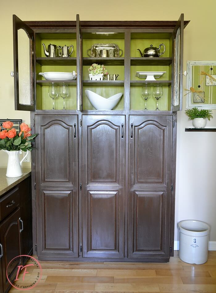 Built-In Kitchen Pantry Makeover Interior After