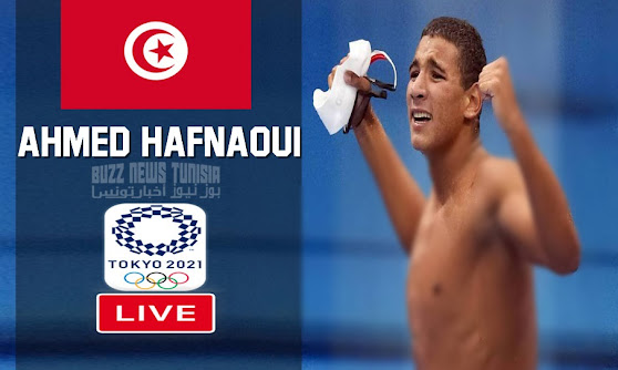 Watch Match Ahmed Hafnaoui Live Swimming 800m freestyle men Olympic Games Tokyo 2020