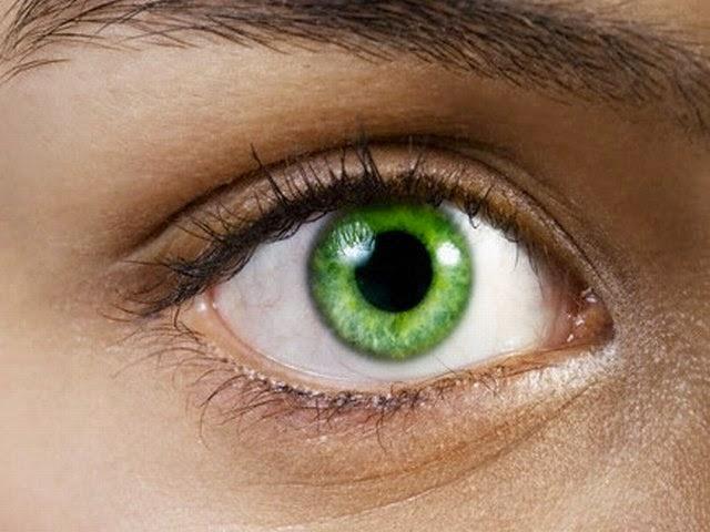 Green Eyes Human Nature