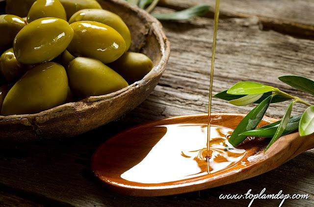 cách làm lông mi dày và dài từ dầu olive