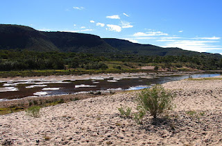 Two rivers in water gaps in Australia's Kirchauff Range give evidence for the Genesis Flood, but creation scientists need to do more research there.