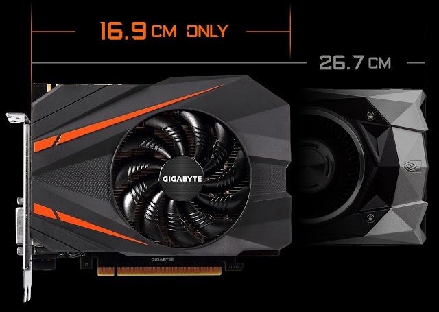 نيفيديا تطلق نسخة مصغرة من البطاقة الرسوميه  GeForce GTX 1080