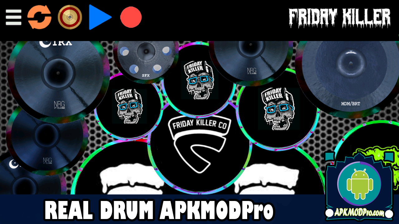 Download Real Drum MOD APK v9.0.12 [MOD Premium All Unlocked]  Terbaru 2020