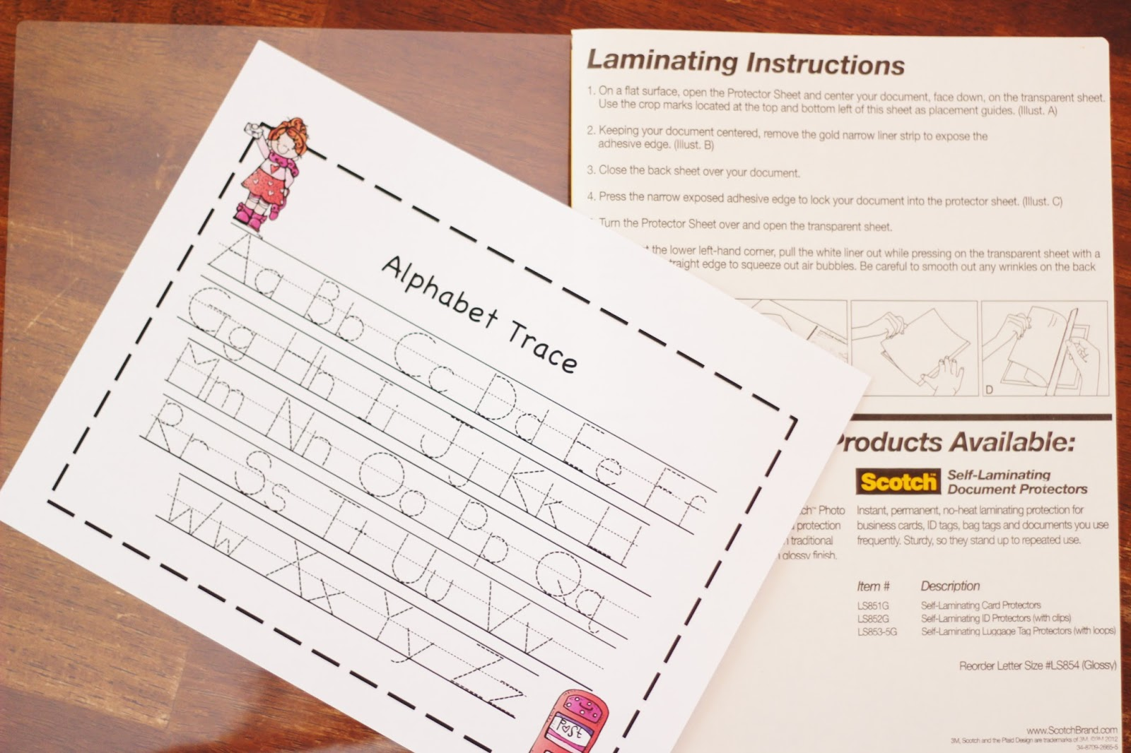 Diy Laminated Preschool Worksheets