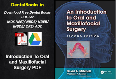 Introduction To Oral and Maxillofacial Surgery PDF