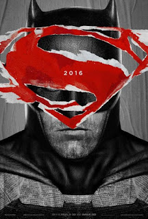 Cartel promocional de Batman vs Superman
