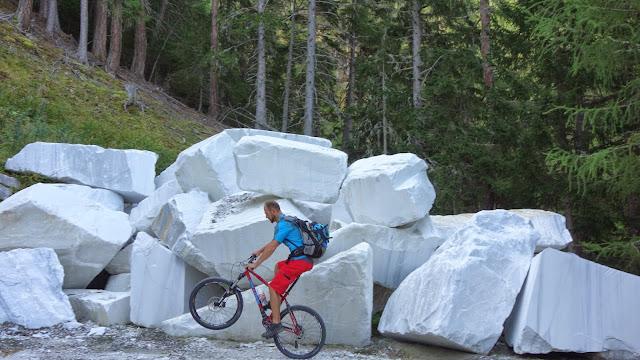 Biketour zum Marmorbruch Vinschgau